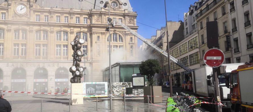 Incendie à la Gare Saint-Lazare : le trafic RATP perturbé