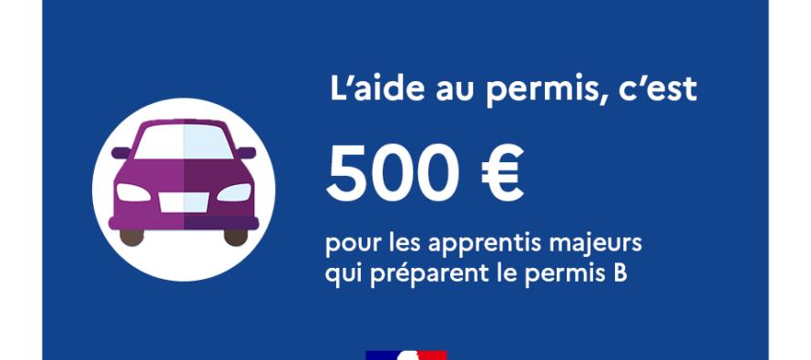 Permis de conduire B : une aide de 500 euros pour les apprentis majeurs