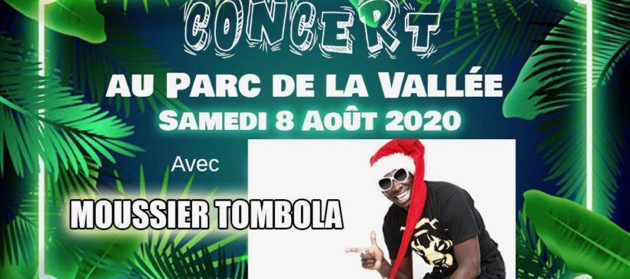 Mantes-la-Ville : concert gratuit au Parc de la Vallée samedi avec Moussier Tombola