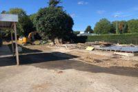 Magnanville : les préfabriqués de l'école «Les Marronniers» démolis