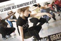 Diam's Music : stage de danse afro hip-hop gratuit du 10 au 14 août au Centre Chopin