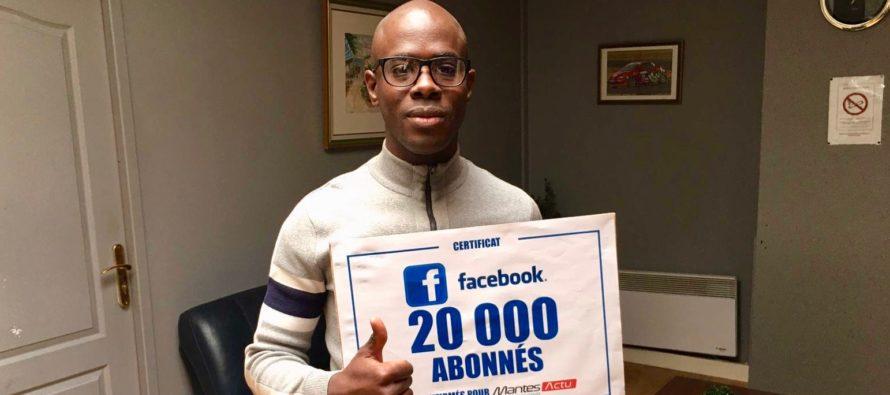Médias : Mantes Actu dépasse la barre des 20 000 abonnés sur Facebook