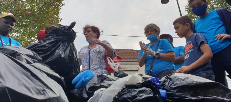 World Clean Up Day : Écoles et Cultures s'est mobilisé à Mantes-la-Ville