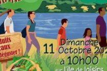 La Note Rose : randonnée gourmande le 11 octobre à la base de loisirs de Moisson