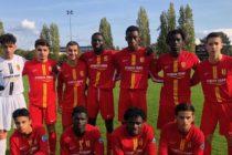 Foot – U17 NAT – 5e J : le FC Mantois s'incline à domicile contre Caen, leader