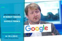 Conférence Business : le directeur de Google France à Mantes-la-Ville le 14 octobre à l'espace Jacques Brel