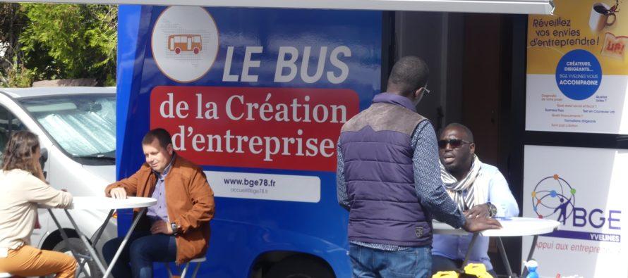 Business : le bus de la création d'entreprise à Mantes-la-Jolie et Mantes-la-Ville du 20 au 24 octobre