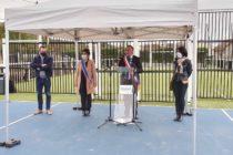 Mézières-sur-Seine : le City Stade baptisé «Pierre Blévin» inauguré