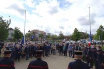 Magnanville : les habitants et sapeurs-pompiers rendent hommage à André Sylvestre, l'ancien maire décédé