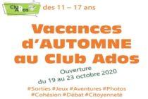 Magnanville – Vacances d'automne: les inscriptions sont ouvertesau Club Ados