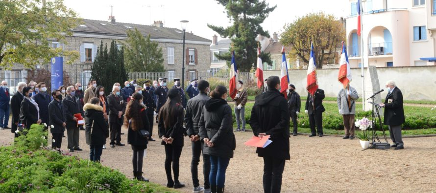 Armistice de 1918 : la ville des Mureaux honore la mémoire des soldats