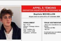 Yvelines : appel à témoins après la disparition de Baptiste Michellon
