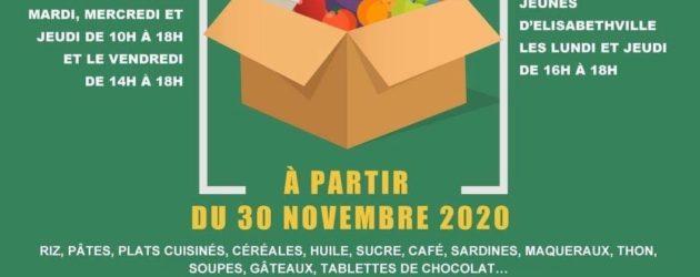 Aubergenville – Pluri'Elles : collecte de produits alimentaires et d'hygiène pour les habitants démunis