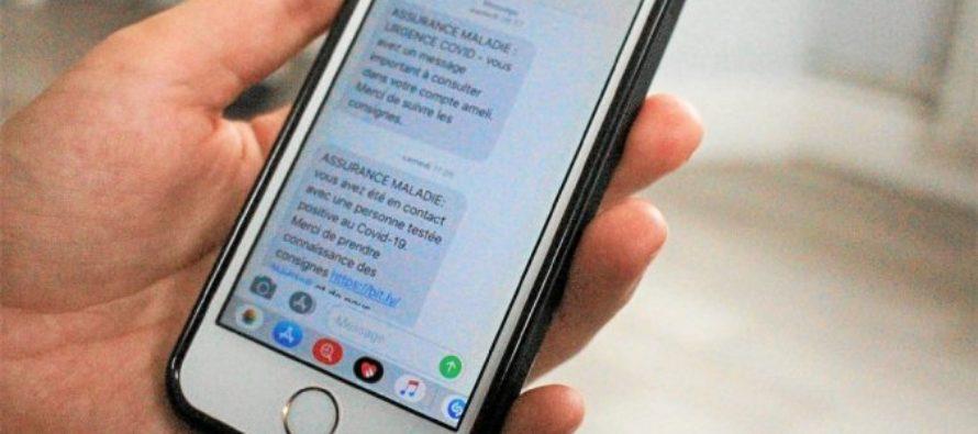 Covid-19 : l'Assurance Maladie envoie un SMS si vous êtes «positif» ou «cas contact»