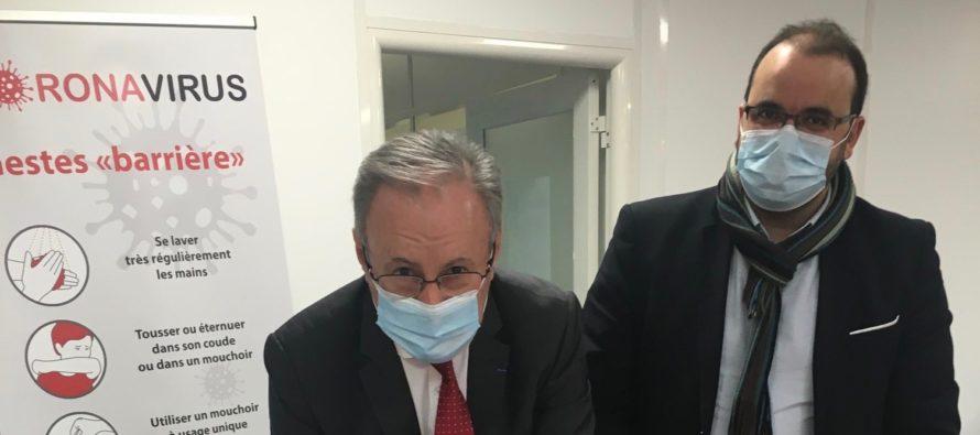 """Maison de Santé Interdisciplinaire à Limay : la """"fiche action"""" a été signée"""