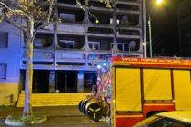 Tour Jupiter à Mantes-la-Jolie : le feu dans la cave ne fait pas de blessés