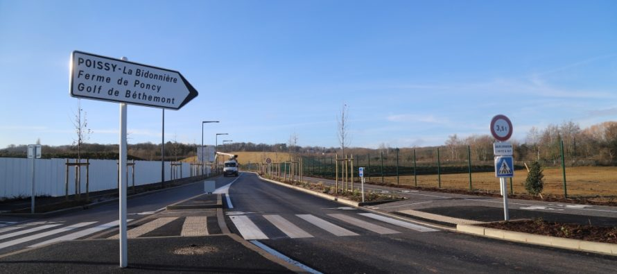 Le PSG à Poissy : ouverture de la nouvelle route vers le futur centre d'entrainement