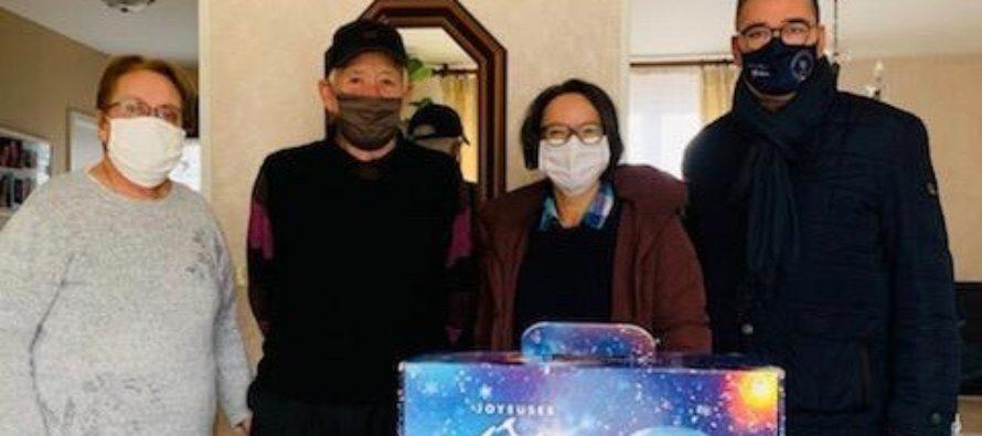 Noël 2020 à Magnanville : 800 colis gourmands pour les aînés