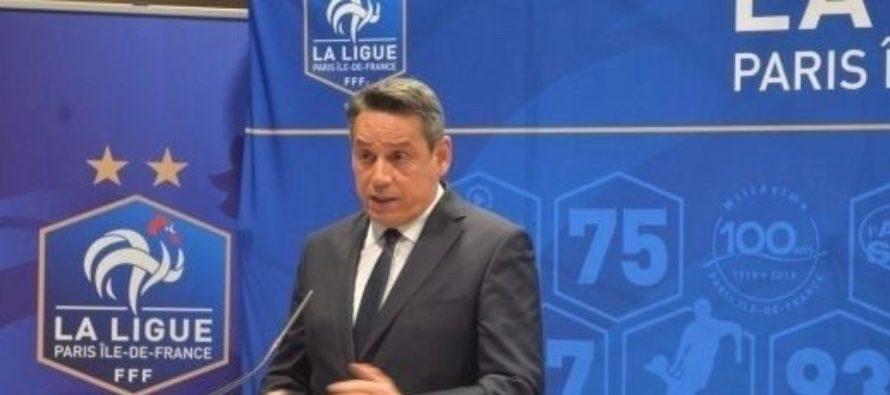 Foot : Jamel Sandjak réélu président de la Ligue de Paris Ile-de-France