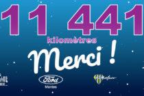 Marche Paris-Mantes 2021 : objectif atteint avec 11 441 km, 1500 € pour Mantes-Solidarité