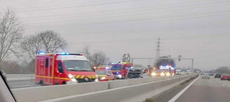 Accident A13 Porcheville : bouchons entre Épône et Mantes en direction de Rouen