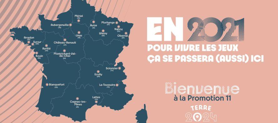 Terre de Jeux 2024 : les villes d'Aubergenville, Magnanville et Houdan labellisées