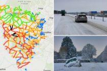 Yvelines – Neige : voici la carte des conditions de circulation en temps réel