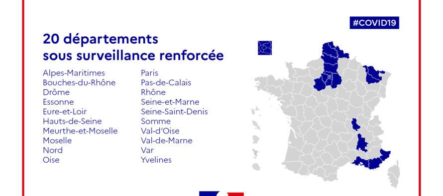 Covid-19 : le département des Yvelines en «surveillance renforcée»