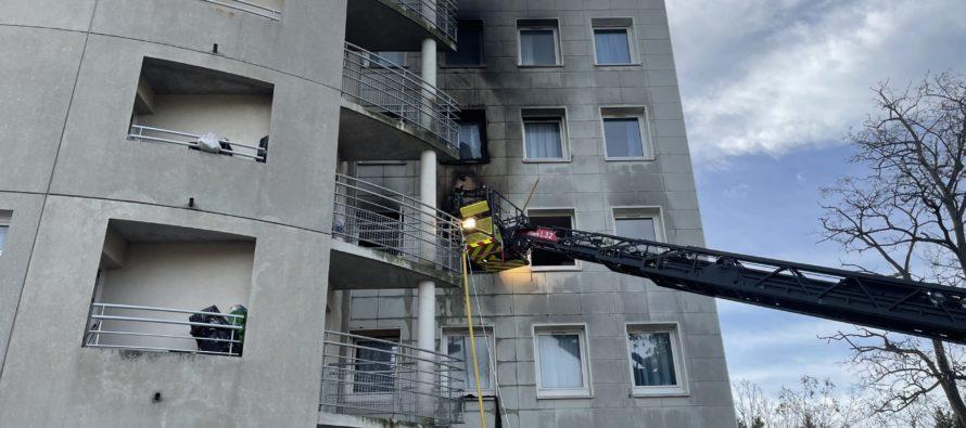 Mantes-la-Jolie : un blessé après l'incendie au foyer Adoma, une dizaine de relogements