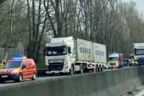 Accident sur l'A13 : l'autoroute bouchée entre Versailles et Poissy en direction de Rouen