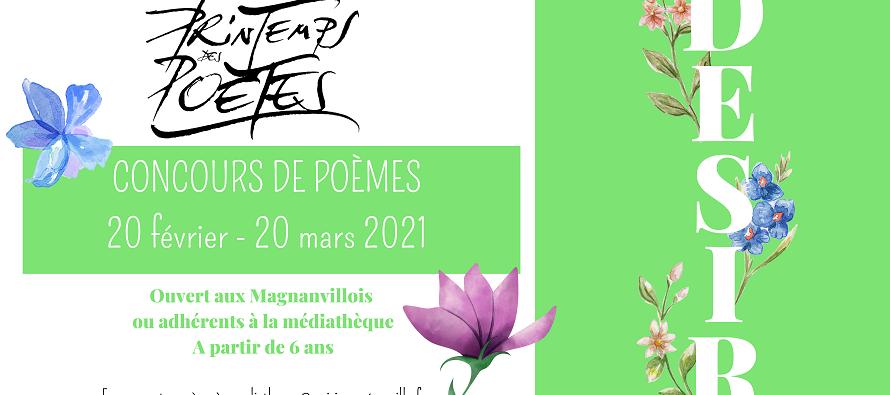Magnanville : participez au concours de poèmes organisé par la médiathèque