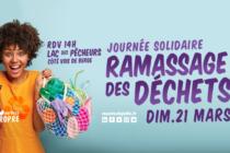 Mantes-la-Jolie : journée solidaire ramassage des déchets le 21 mars au Lac des Pêcheurs