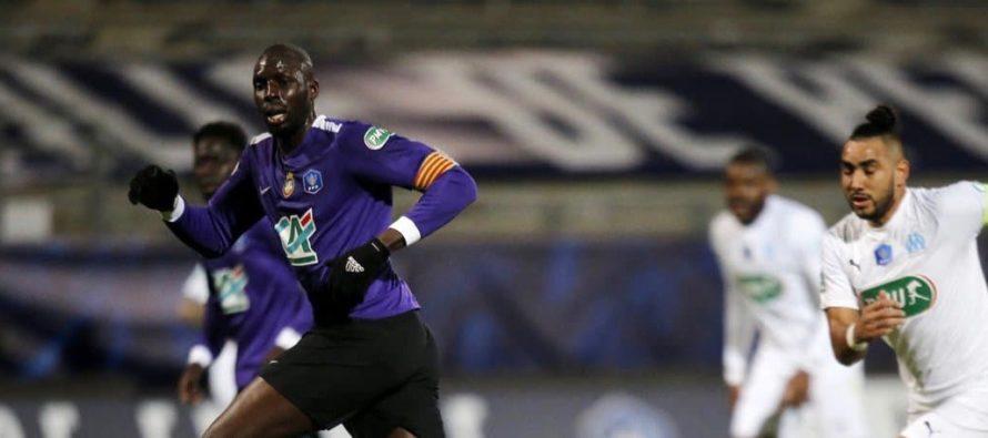 Mantes-la-Ville : Diadié Diarra, capitaine du Canet-en-Roussillon qui a éliminé l'OM en Coupe de France