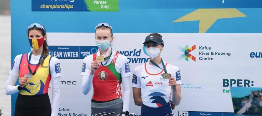 AS Mantaise Aviron : Claire Bové en bronze aux championnats d'Europe