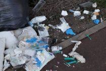 Vigilance à Mantes-la-Ville : dépôt sauvage de seringues rue du Havre