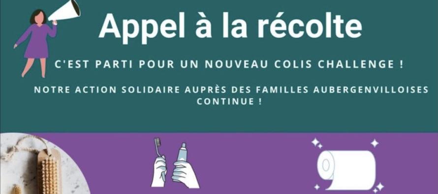 Aubergenville – Pluri'Elles : poursuite de la collecte de produits alimentaires et d'hygiène pour les démunis