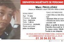 Issou : appel à témoins après la disparition de Marc Paulleau, 11 ans