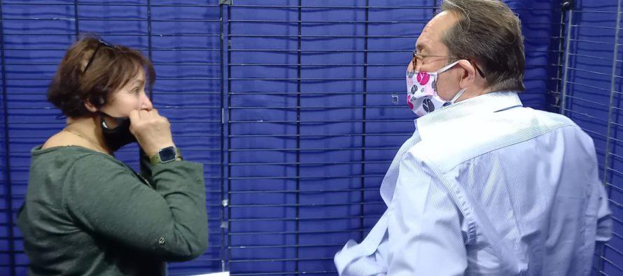 Covid-19 – Yvelines : Pierre Bédier s'est fait vacciner au Vélodrome National de Saint-Quentin