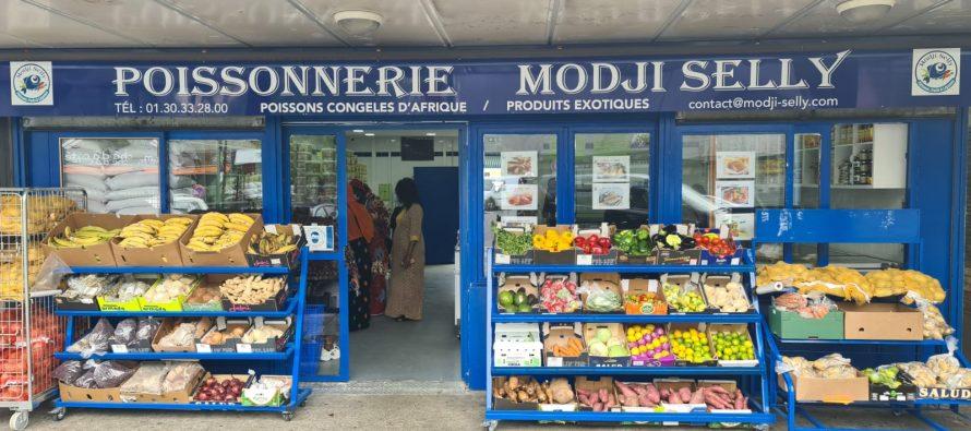 Modji Selly à Mantes-la-Ville : poissons congelés d'Afrique et produits exotiques aux Merisiers