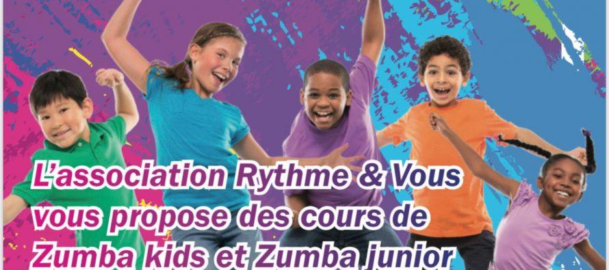 Rythme et Vous à Buchelay : cours de Zumba kids, junior et adultes, inscriptions ouvertes