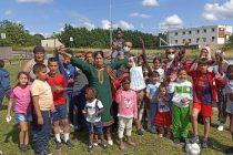 Association Solidarité Partage : journée festive à Limay pour 140 personnes logées à l'hôtel Confort