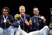 Mantes-la-Jolie – Sailly : Julien Mertine (Escrime) sacré champion olympique par équipes