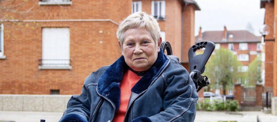 Suresnes à Colleville-sur-Mer en fauteuil roulant : Anne Morelli-Jagu à Épône mardi matin