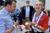 Mantes-la-Jolie : Claire Bové honorée après sa médaille d'argent aux JO de Tokyo