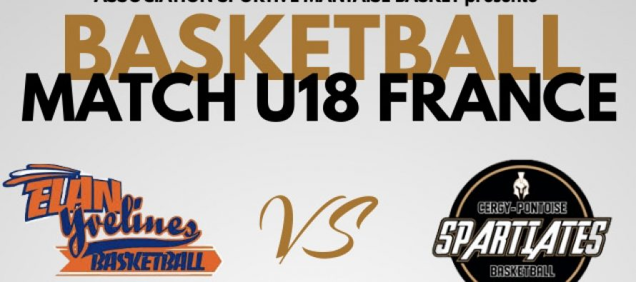 Basket à Mantes-la-Jolie – U18 France : Union Poissy-Versailles contre Cergy dimanche