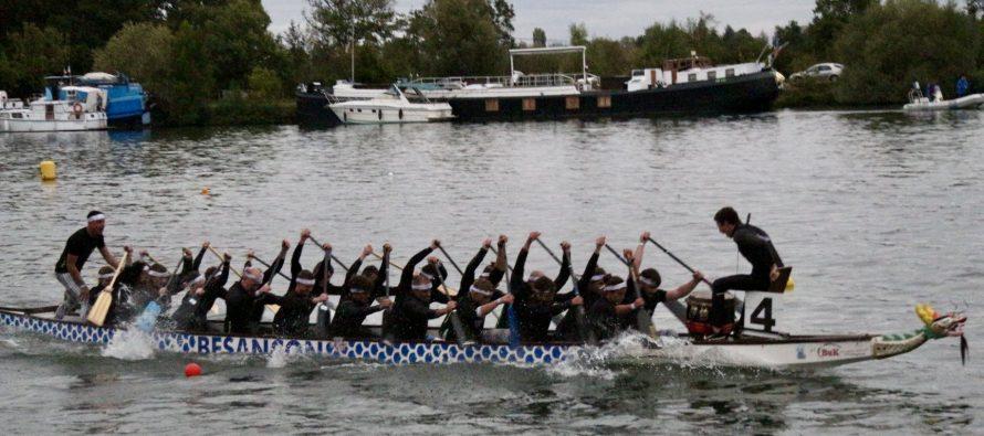 Mantes-la-Jolie : assistez au championnat de France de Dragon-Boat les 2 et 3 octobre