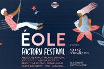 Mantes-la-Jolie – Eole Factory Festival 2021 : 20 concerts dont 2 gratuits du 10 au 12 septembre