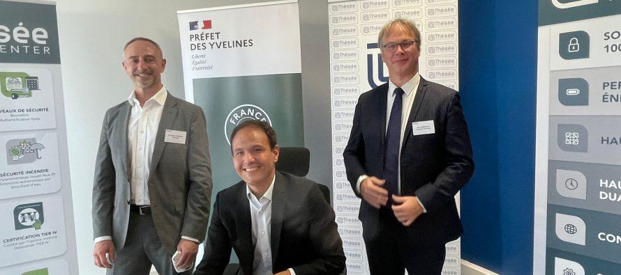 Aubergenville – Thésée DataCenter : le ministre Cédric O en visite
