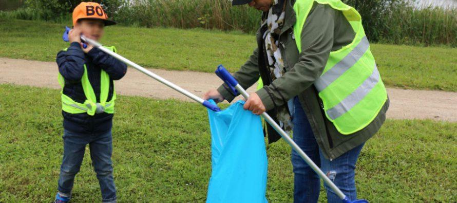 Mantes-la-Jolie : opération ramassage des déchets au lac des Pêcheurs le 19 septembre