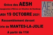 Mantes-la-Jolie : grève des Accompagnants d'Élèves en Situation de Handicap